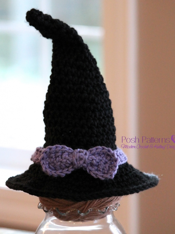 Crochet Witch Hat Pattern Witch Hat Crochet Pattern