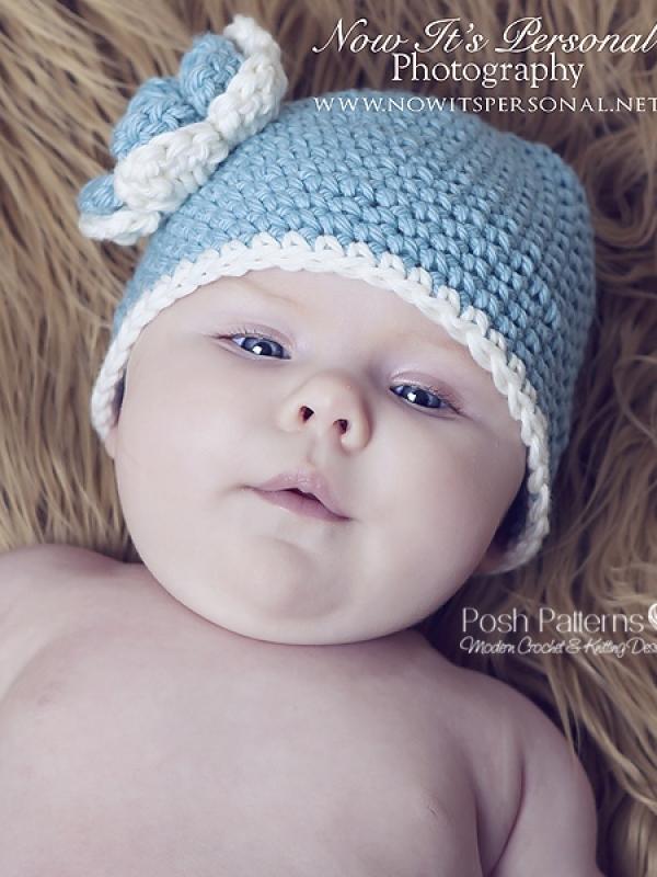 easy beginner crochet hat pattern
