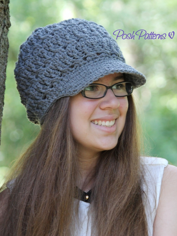 stylish crochet hat pattern
