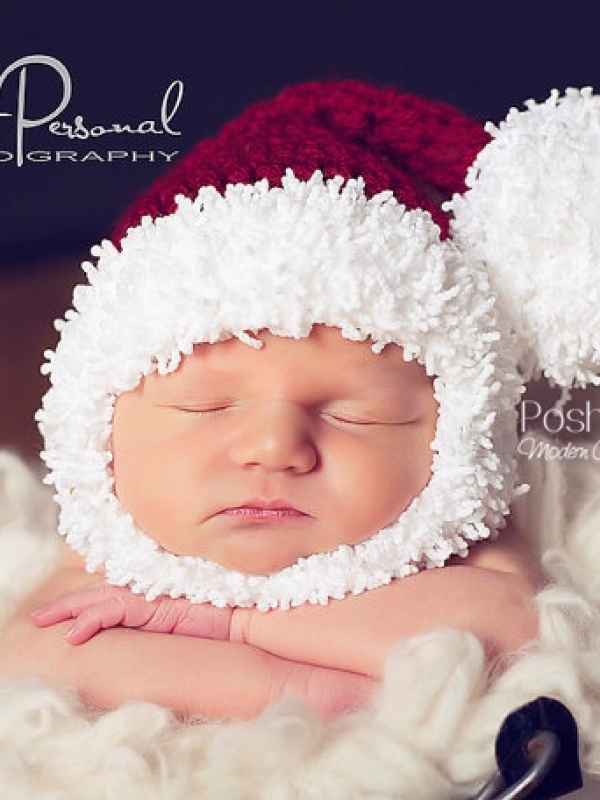 santa hat crochet pattern