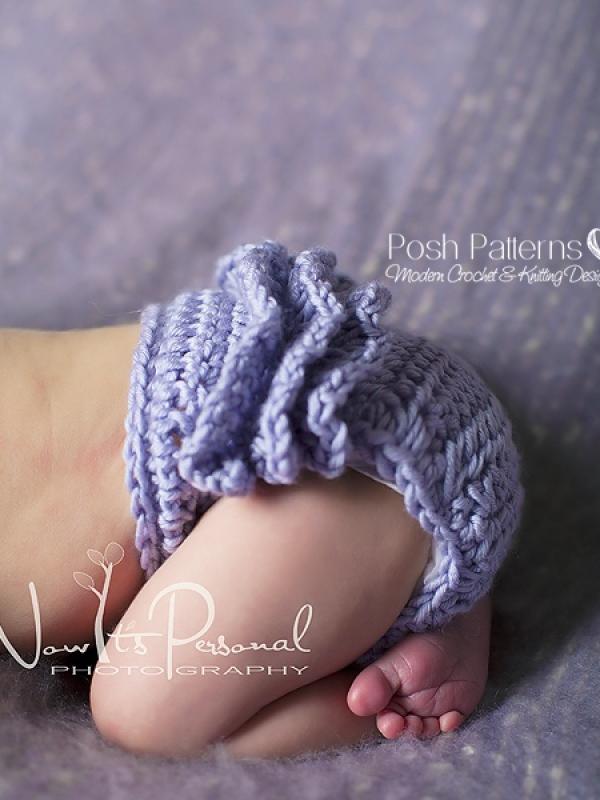 ruffle diaper cover crochet pattern