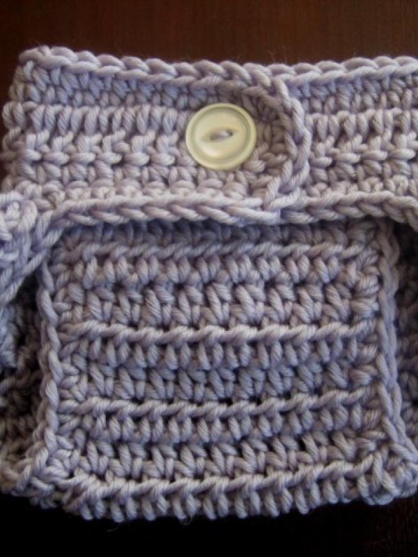 diaper cover crochet pattern ruffle bottom bum