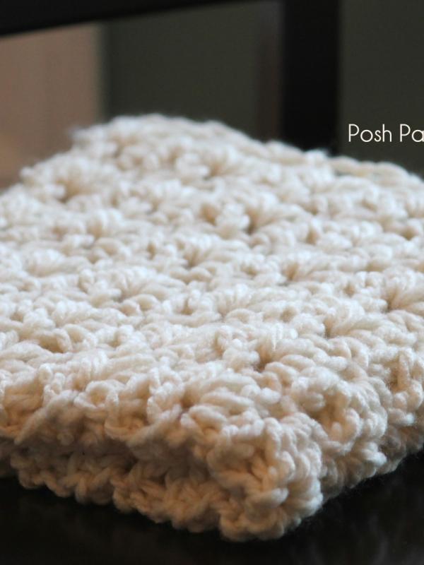 crochet pattern baby blanket wrap