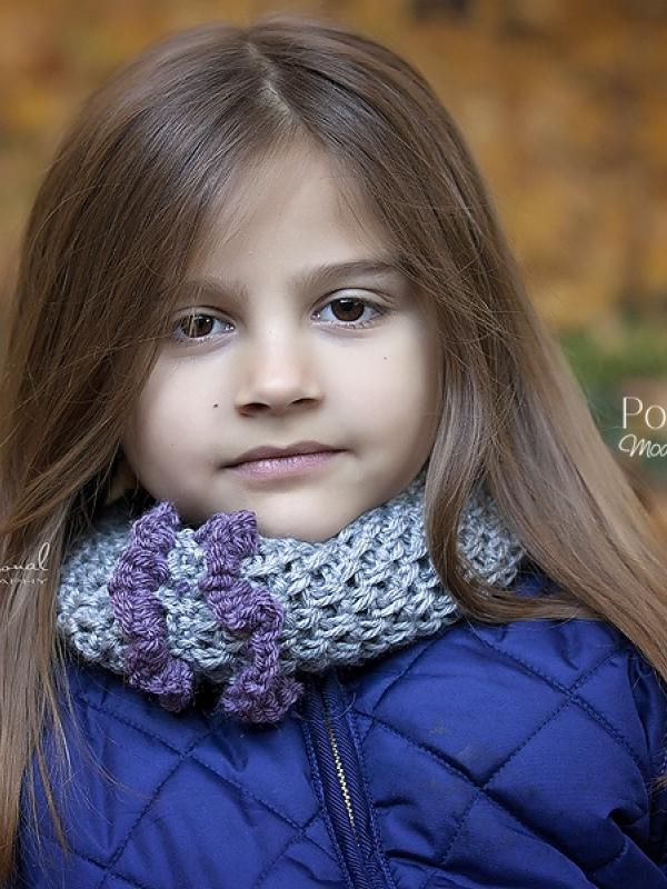 ruffle cowl crochet pattern