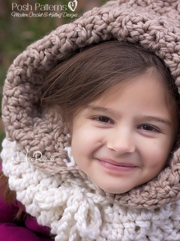 crochet hood pattern