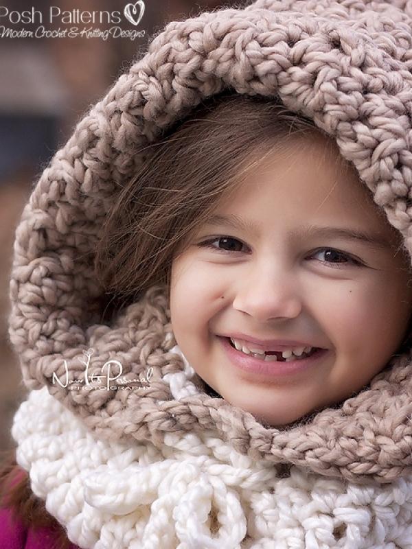 crochet cowl hood pattern