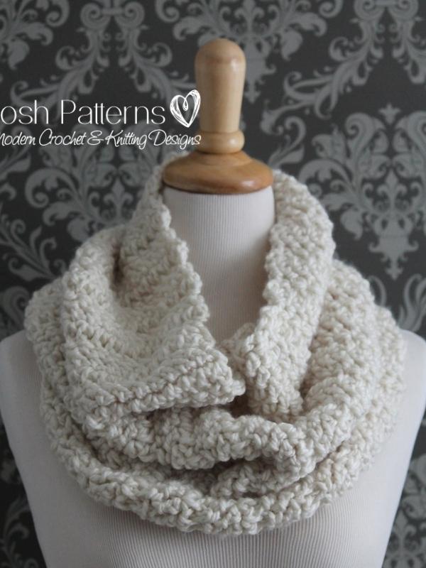 circle scarf crochet pattern