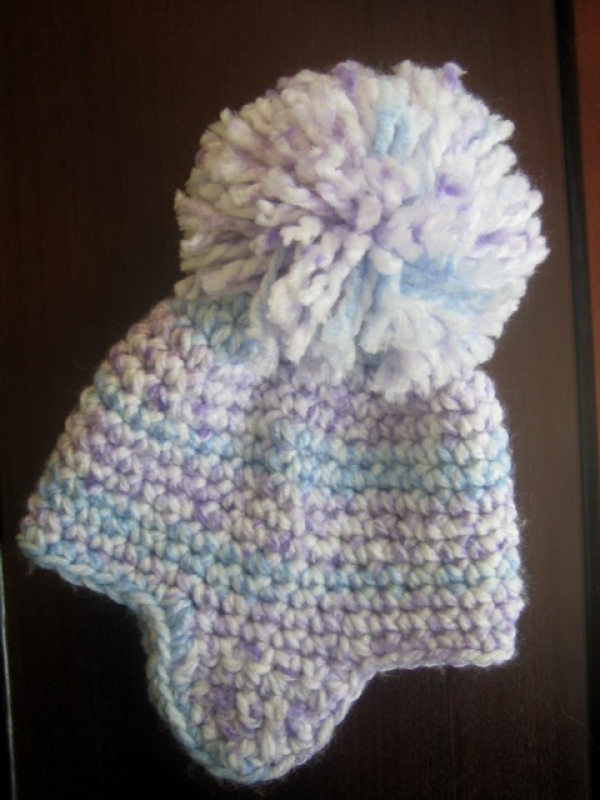 easy crochet pattern earflap hat