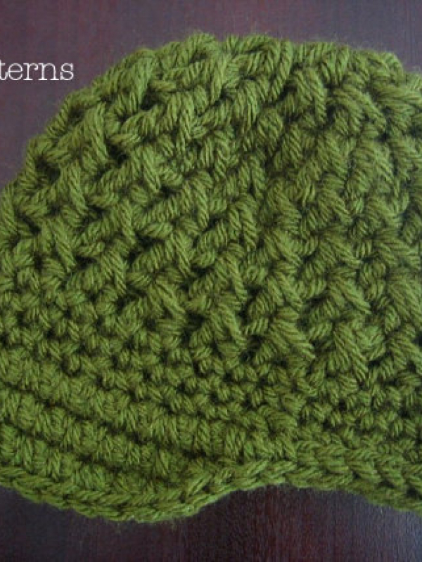 cross stitch newsboy hat pattern