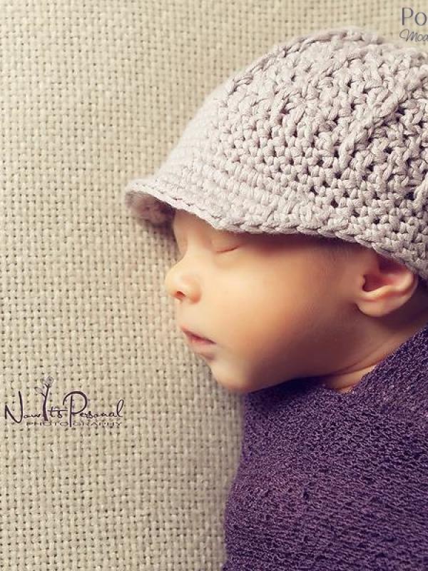 newsboy hat crochet pattern