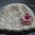 crochet pattern flapper beanie and flower
