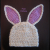 crochet bunny hat pattern easter bunny