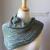 knit triangle shawl pattern