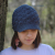 solid shell stitch newsboy visor hat pattern baby to adult
