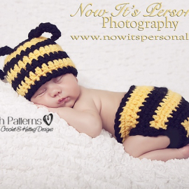 baby bumble bee crochet pattern