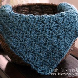 easy crochet pattern baby blanket