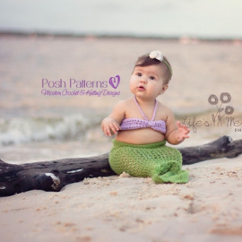 mermaid tail and top crochet pattern