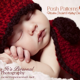 crochet pattern baby ladybug hat and shell cape