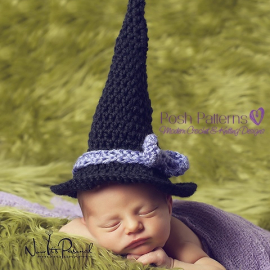 witch hat crochet pattern