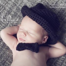 bow tie crochet pattern