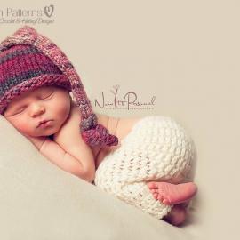 knit baby hat pattern