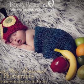crochet pattern baby hungry caterpillar