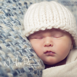 easy knitting pattern baby hat