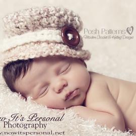 crochet pattern baby girl hat