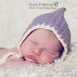 baby pixie hat crochet pattern