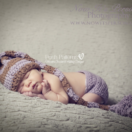 crochet pattern long tail elf hat