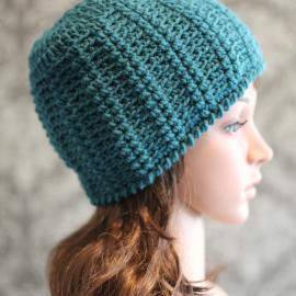textured crochet hat pattern