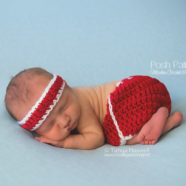 baby shorts crochet pattern
