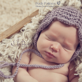 knitting pattern newborn bonnet