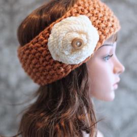 easy knitting pattern headband