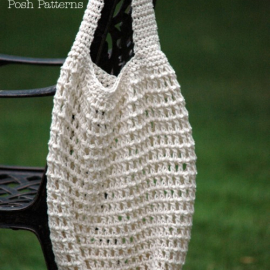 easy crochet pattern market shopping bag