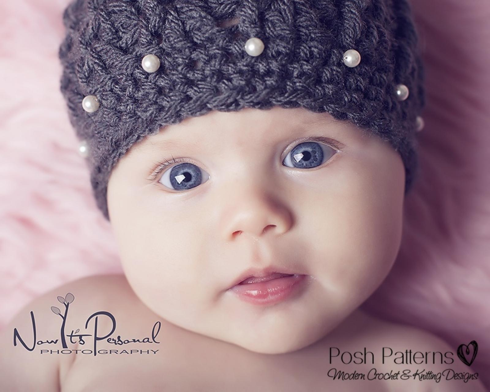 6fab24be432 Crochet Hat Pattern - Spiral Shell Beanie