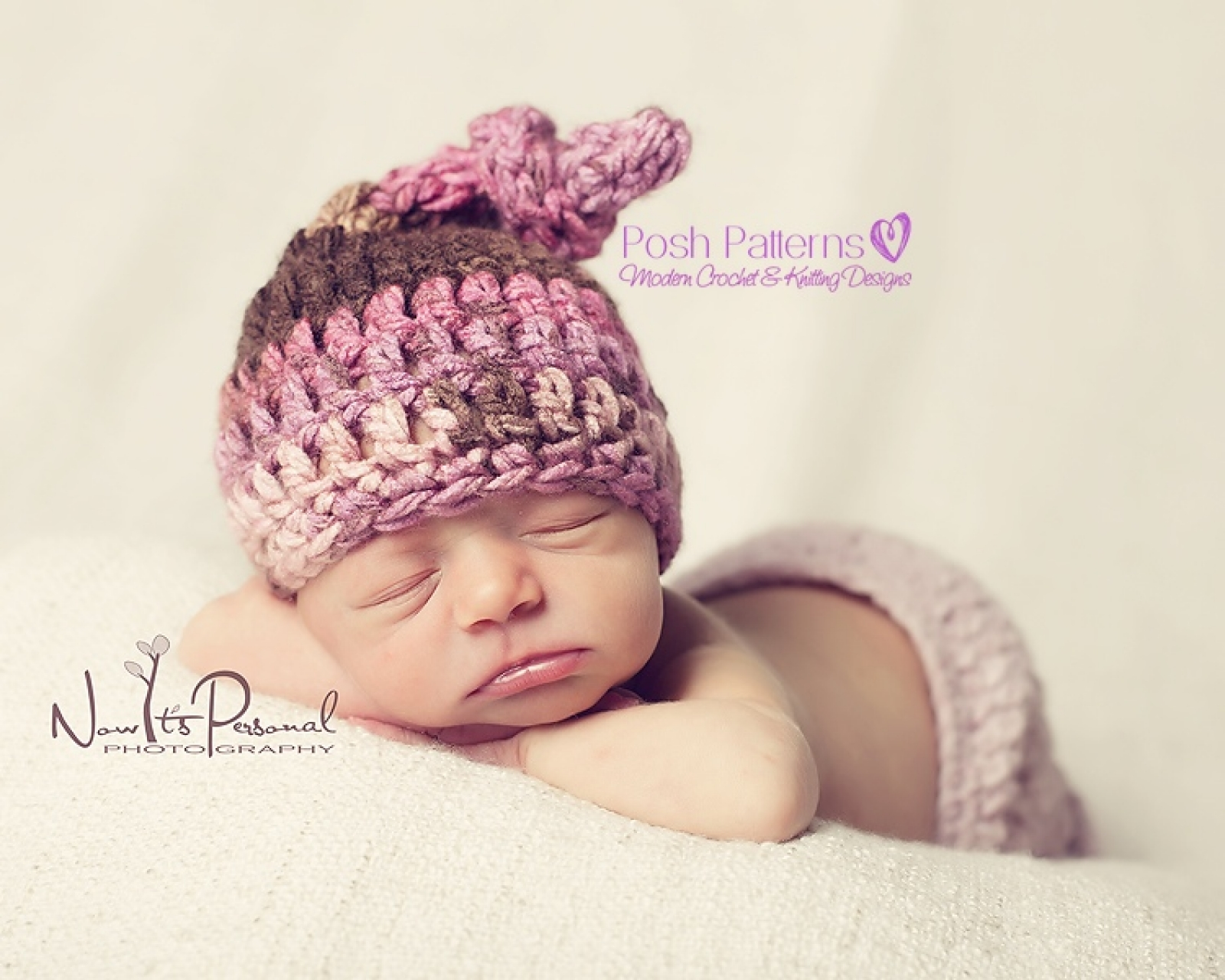 Top Knot Hat Crochet Pattern | Crochet Pixie Hat