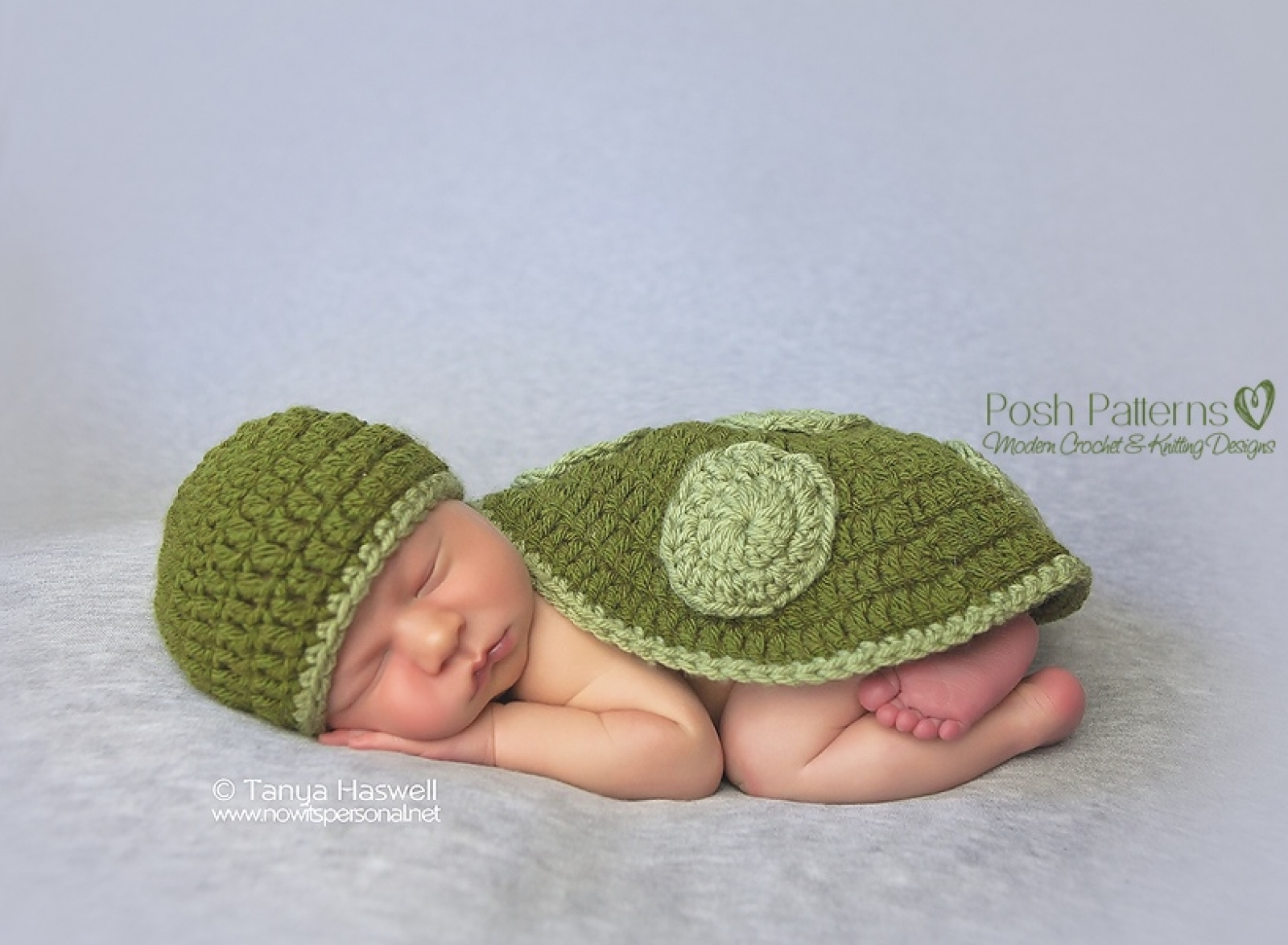 Turtle Hat Shell Crochet Pattern Photography Prop
