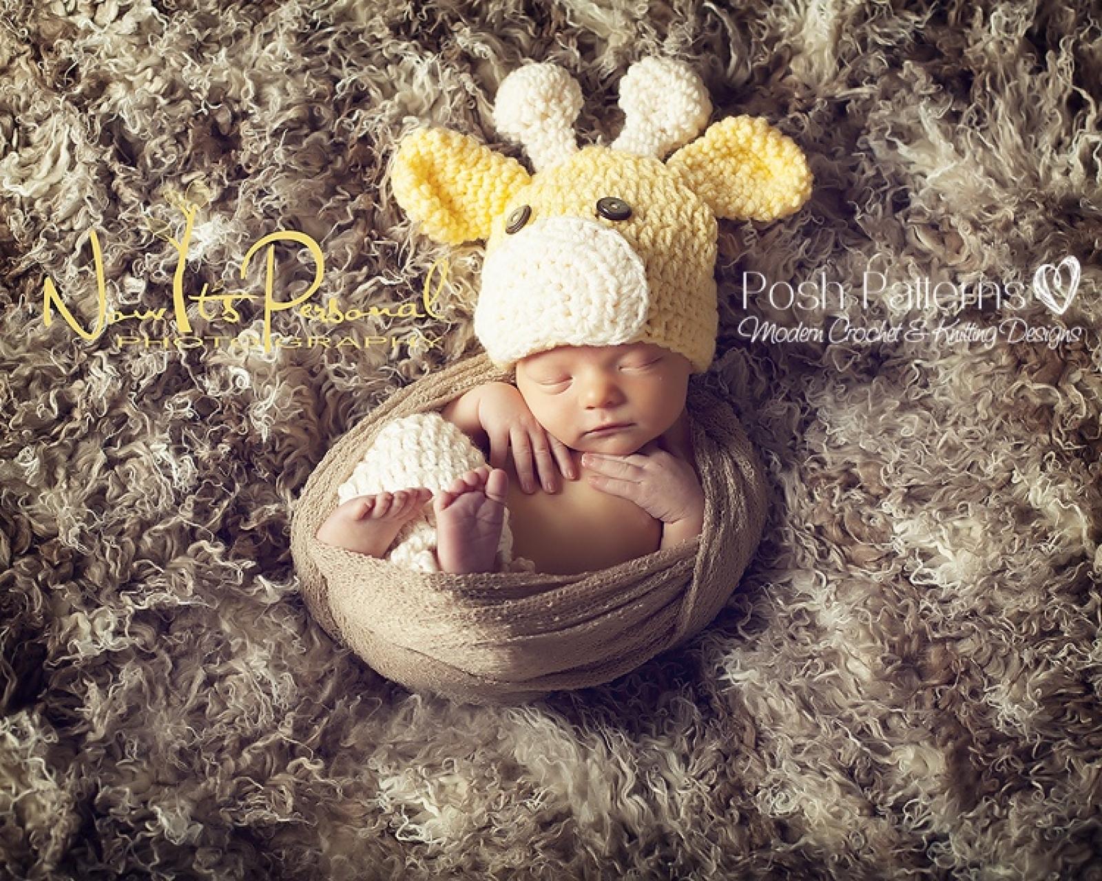 Giraffe Hat Crochet Pattern Baby Giraffe Hat
