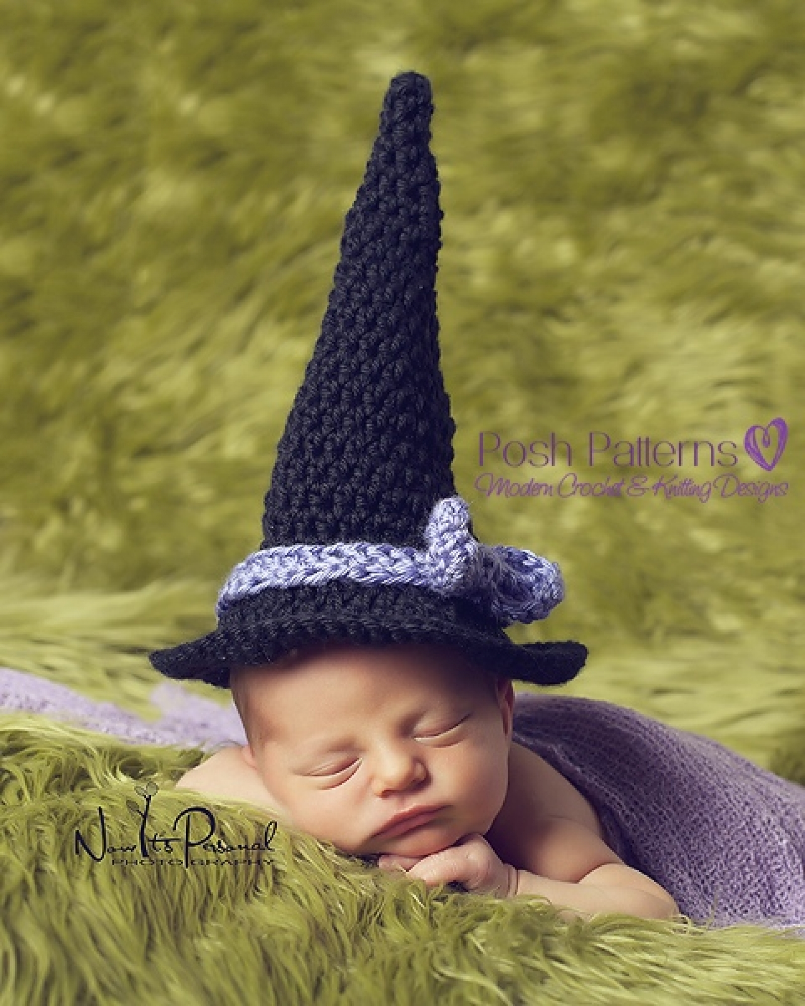 Crochet Witch Hat Pattern | Witch Hat Crochet Pattern