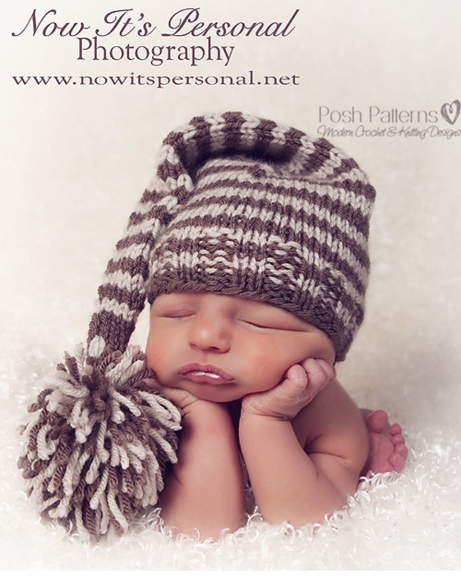 Stocking Hat Knitting Pattern - Long Tail Hat