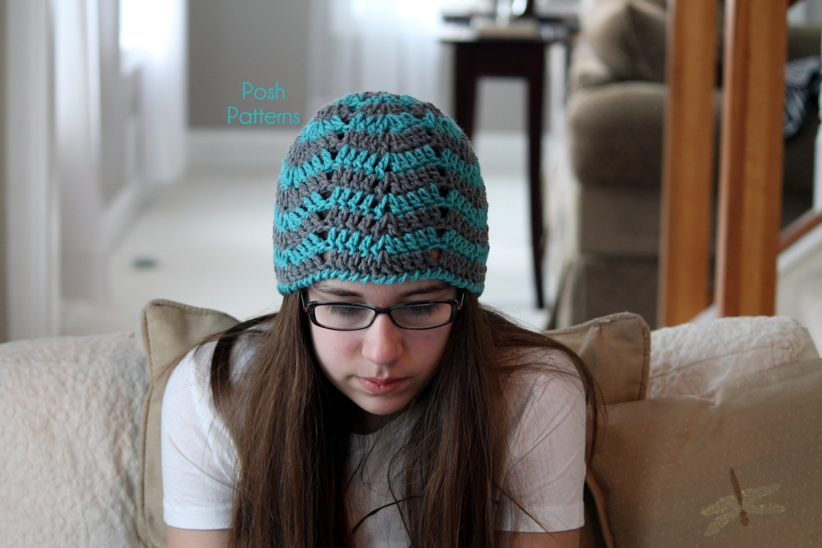 Magnificent Crochet Ripple Hat Pattern Composition - Easy Scarf ...