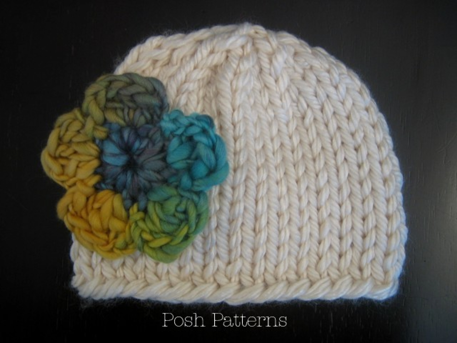 Easy Knit Hat Pattern For All Ages