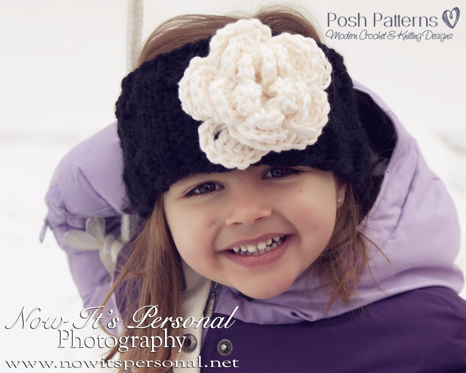 Headband Knitting Pattern - Knit Ear Warmer Pattern