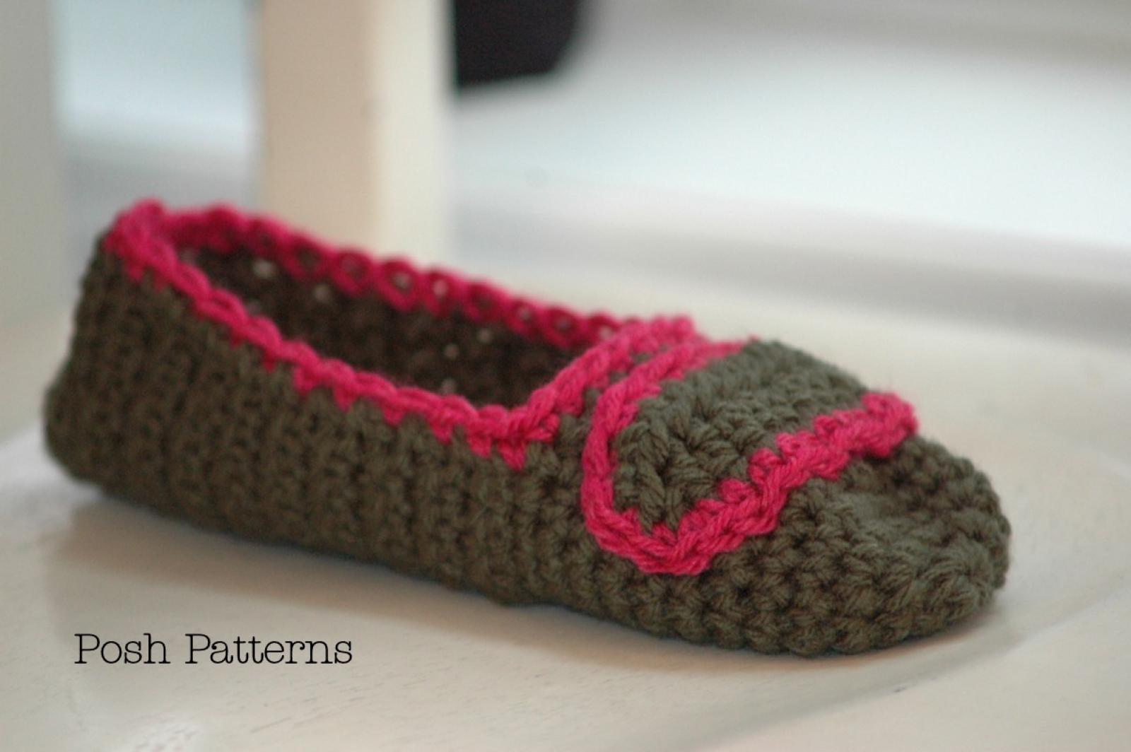 Slipper Crochet Pattern | Easy Crochet Slippers