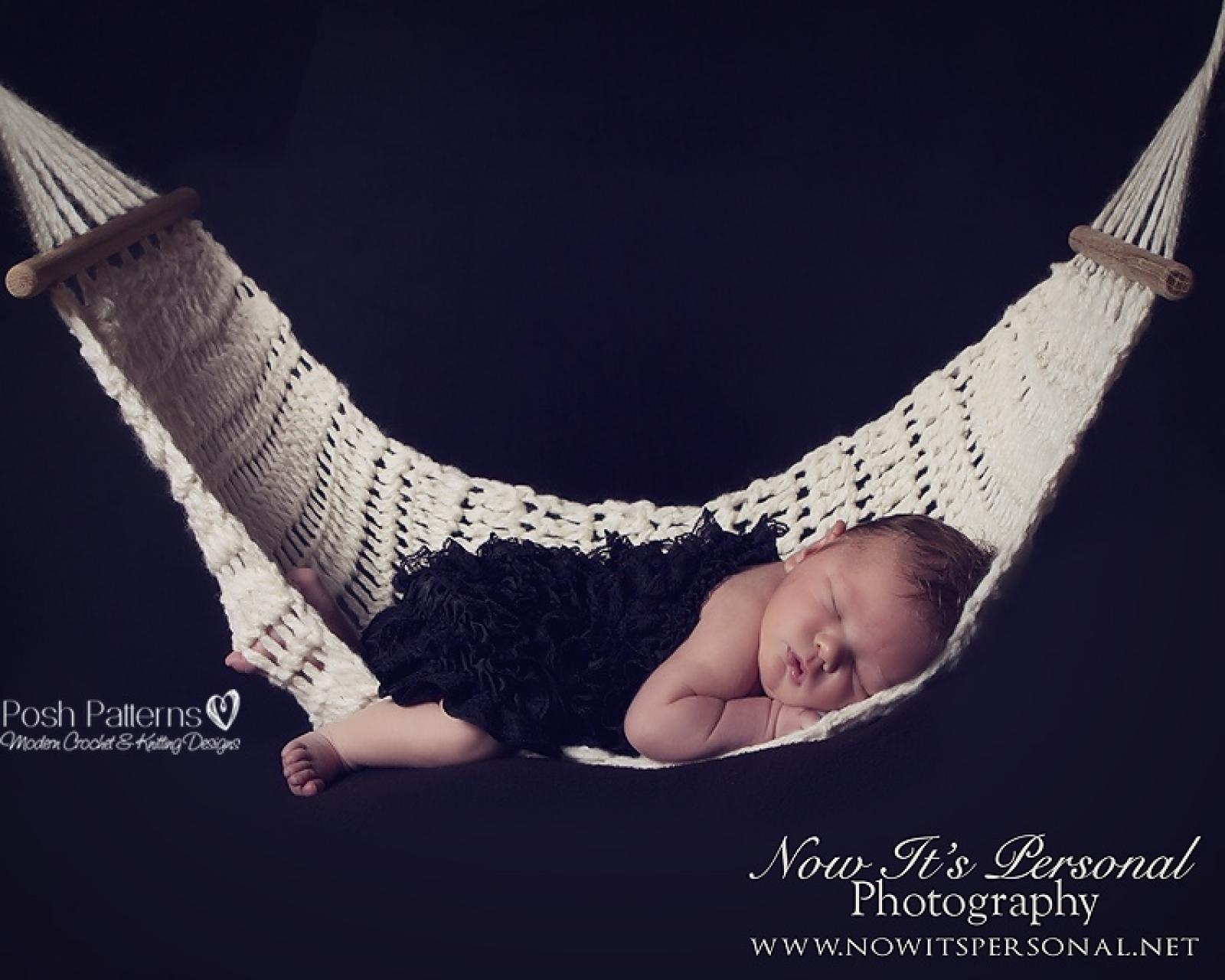 Crochet Pattern Hammock Nest Photo Prop