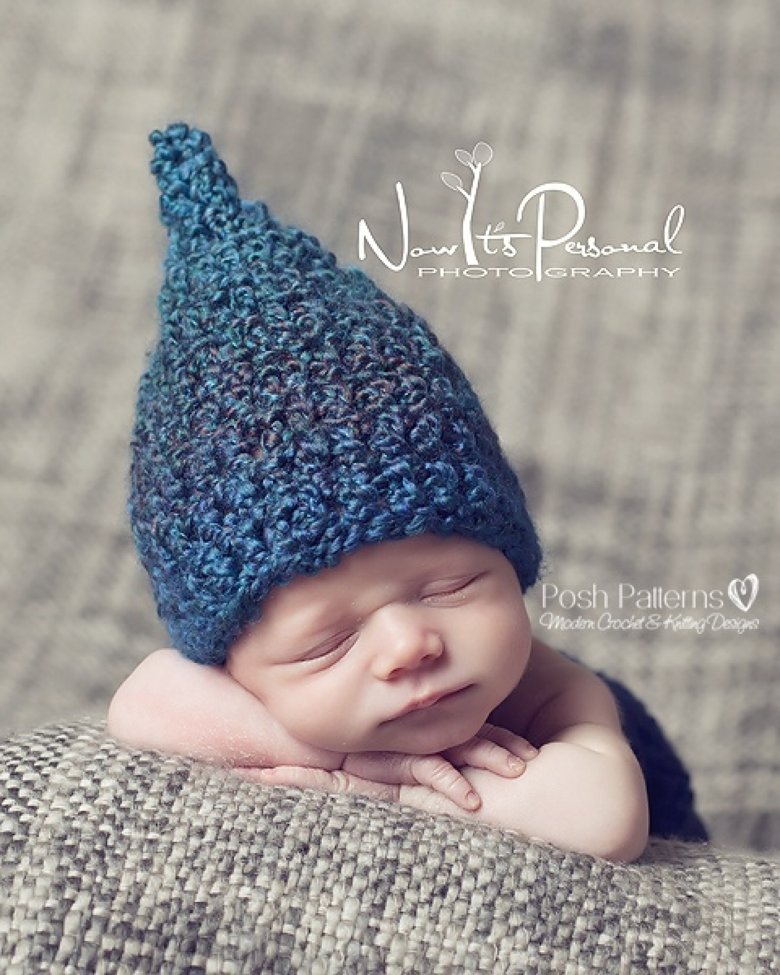 dbb71d1652c Crochet Hat Pattern Baby Gnome Pixie Hat