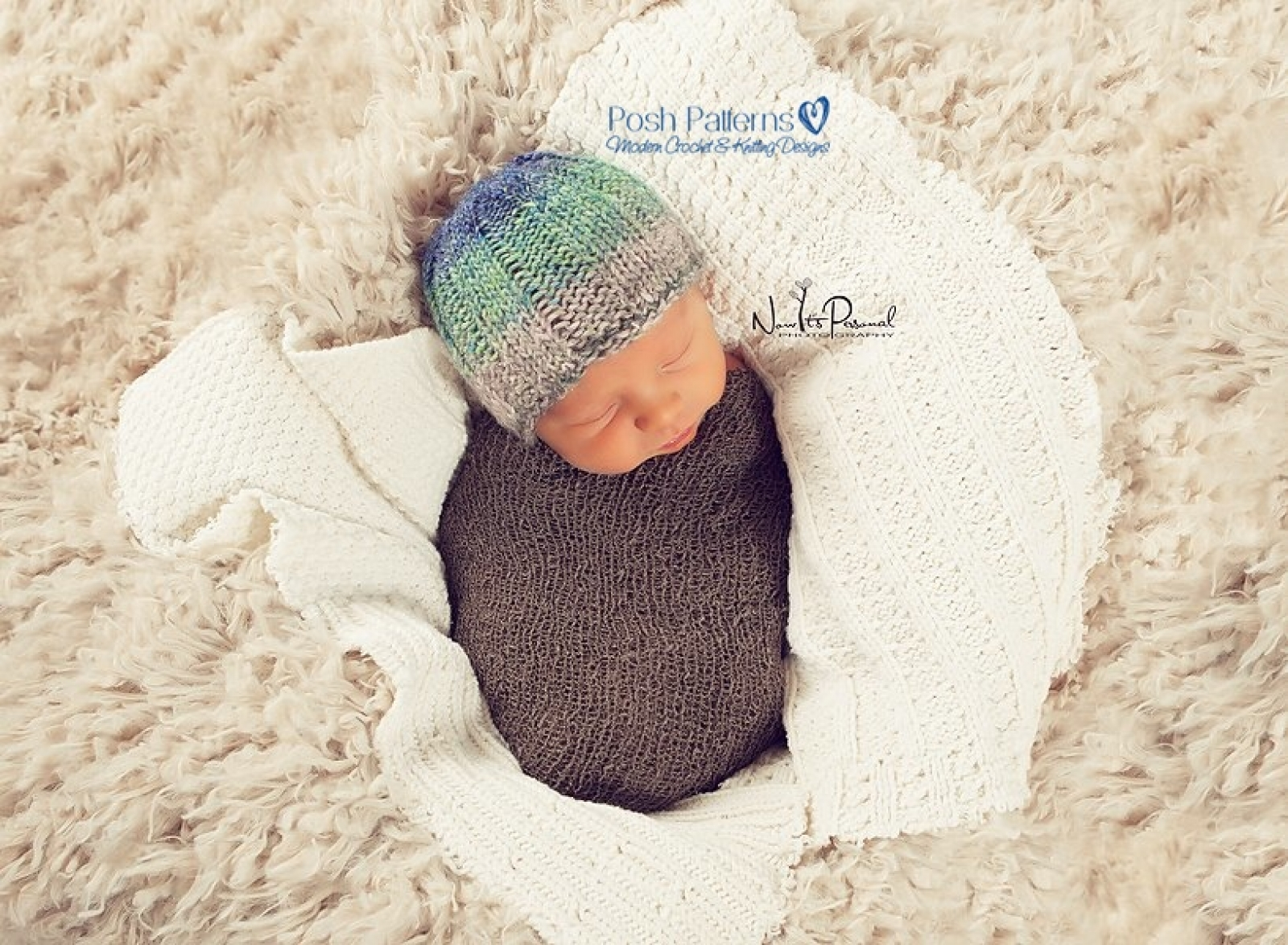 Knitting Pattern Ribbed Hat | Easy Knit Beanie Pattern