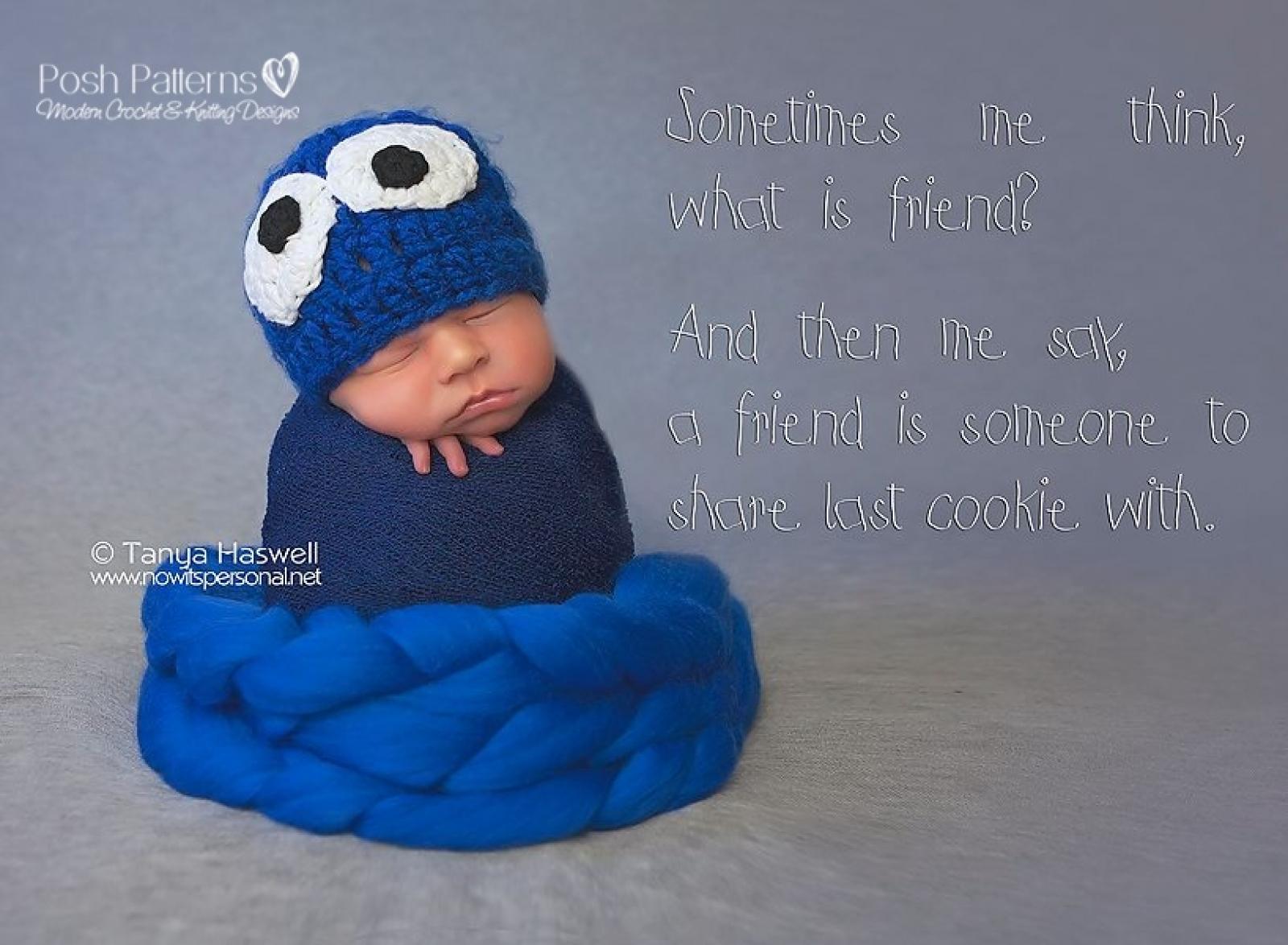 Monster Hat Crochet Pattern | Monster Beanie Pattern