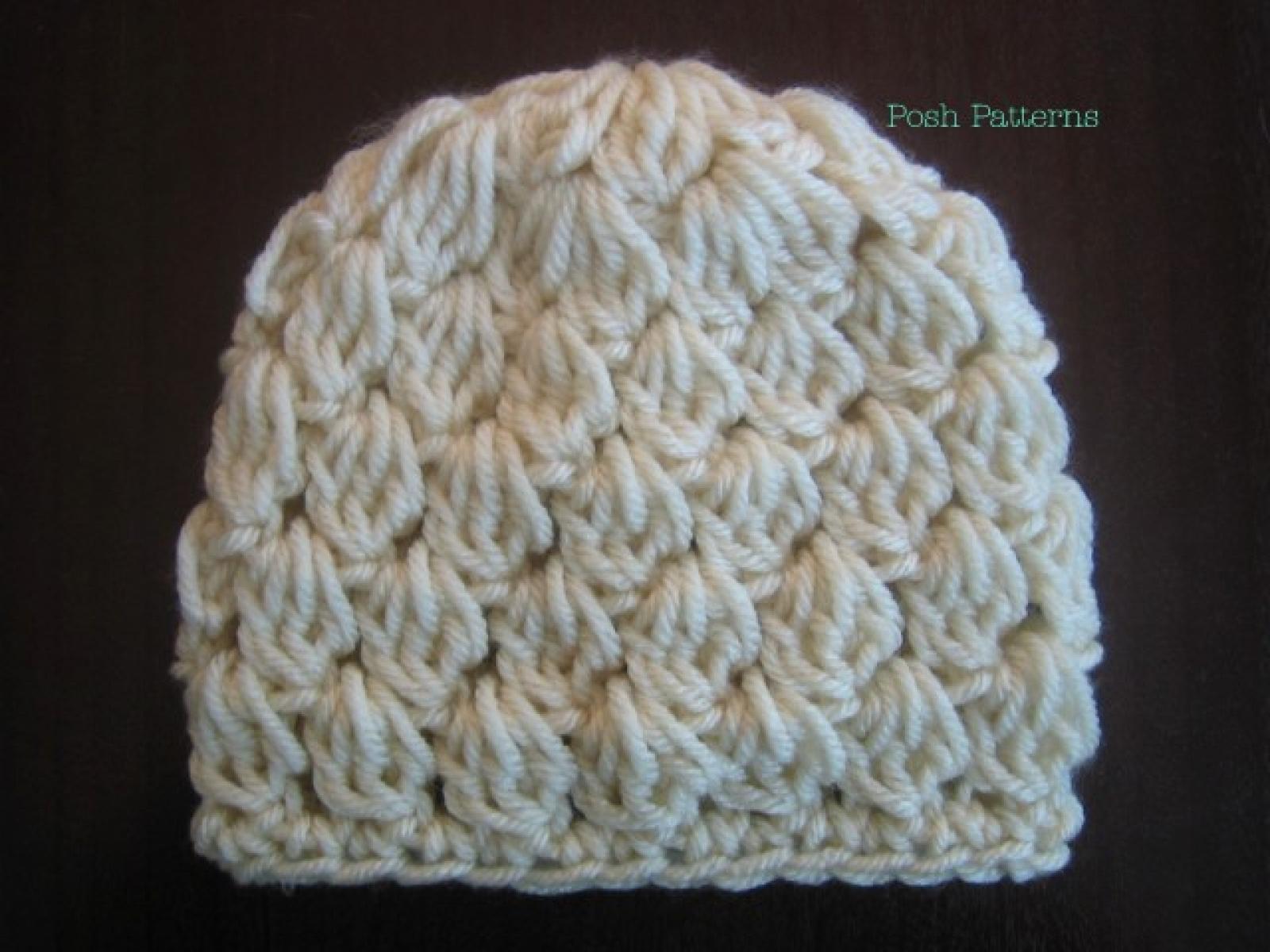 Crochet Slouchy Hat Pattern Girls Crochet Hat